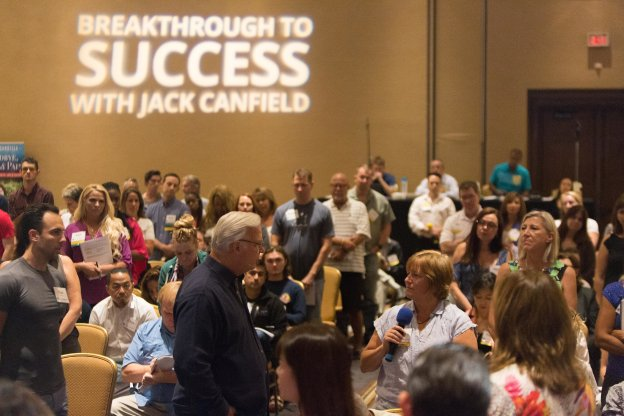 Jack Canfield With Stefan Oskar Neff