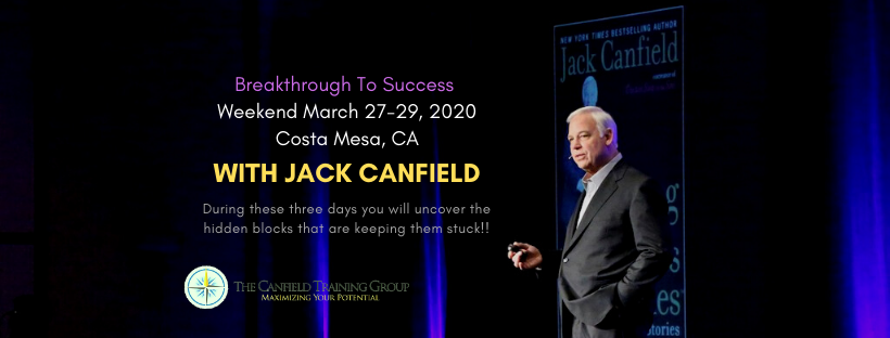Breakthrough to Success Weekend March 27-29 2020