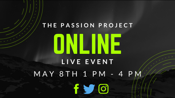 The Passion Project Online Event