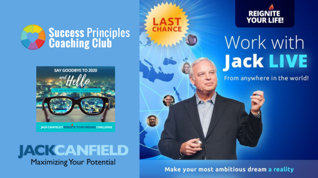 LAST CHANCE TO WORK WITH JACK CANFIELD